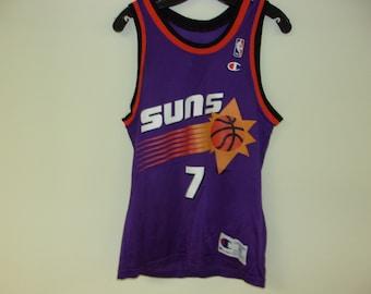 156a3fa9415e Vintage 90s Phoenix Suns Champion Jersey (size 36 Small)