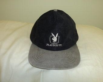 8c9765b9 Vintage Playboy TV Baseball Hat