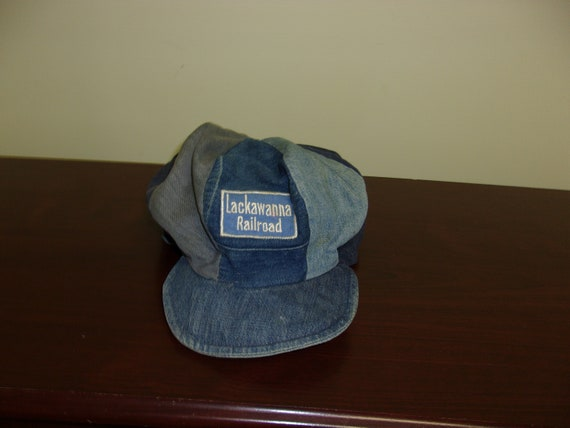 Vintage 30s/40s Union Made Denim Patch Lackawanna
