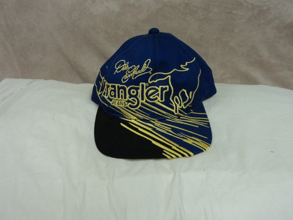 05c18f38a Vintage Dale Earnhardt Wrangler Baseball Hat (Youth size)