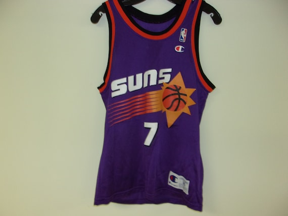 outlet store df6ed edaf4 Vintage 90s Phoenix Suns Champion Jersey (size 36 Small)