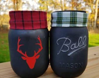 Christmas Mason Jar Twins