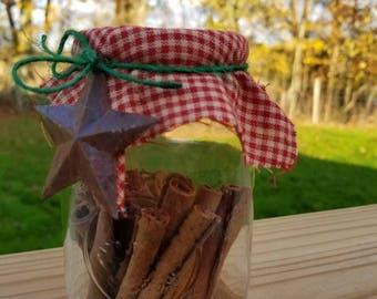 Cinnamon Christmas Mason Jar