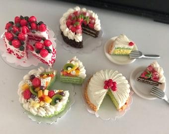 Miniature Cake Etsy