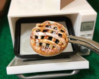 Miniature Pie Blueberry,Miniature Fruit Cake,Miniature Bakery,Miniature Sweet,Dollhouse cake,Dolls and miniature