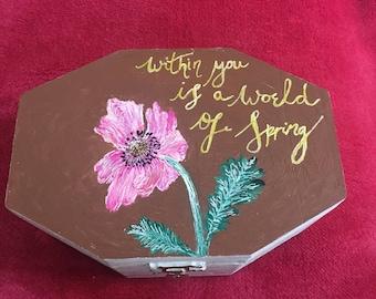 Gift box--'world of spring'