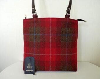 24c2f6299a7b8 Brown tweed bag