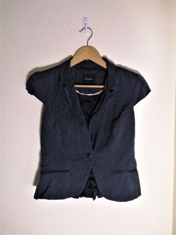 Single Button PORTMANS Business Vest (AU 10) Dark