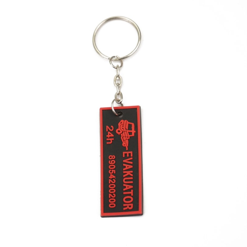 Rubber keychains Custom rubber keychain Key Chain Keyring Key chain Rubber Rubber Keychain 50 Personalized rubber tags