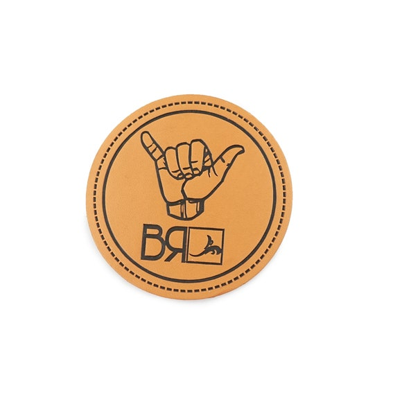 Personalized Leather Label Custom LOGO Patch Jeans Leather Patch 200pcs Genuine Leather patch Custom Logo Leather Patch