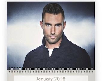 ADAM LEVINE 2018 Calendar