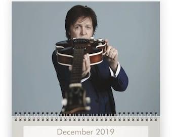Paul McCartney 2019 Calendar - PRE-ORDER