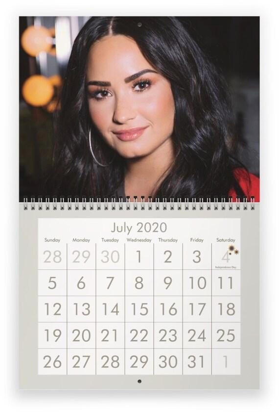 Demi Lovato Tour 2020.Demi Lovato 2020 Wall Calendar