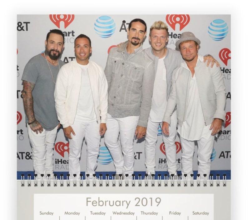 Calendario Ariana Grande 2020.Backstreet Boys 2019 Calendar