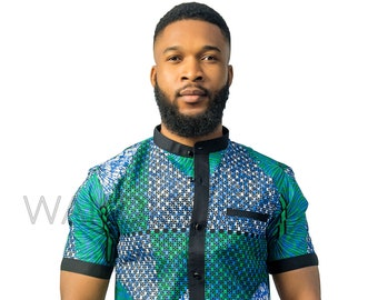 African Mens Wear Etsy