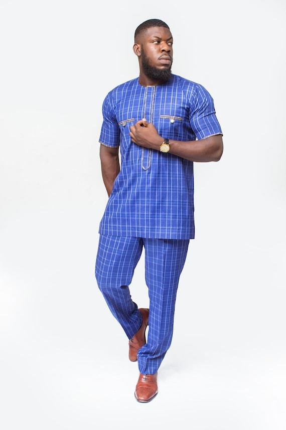 Afrikanische Herrenbekleidung afrikanische Herren Anzug | Etsy