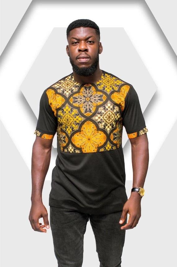 Ankara TShirt TShirt imprimé africain impression Tshirt   Etsy 89230adab57