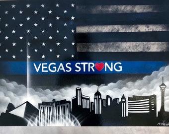 Las Vegas Spray Paint Art Etsy