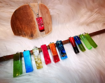 Pendant Keychain Angel Wings Cactus Pendant Pocket Tree Slice Ocean Gift Resin Sea Puzzle Galaxy