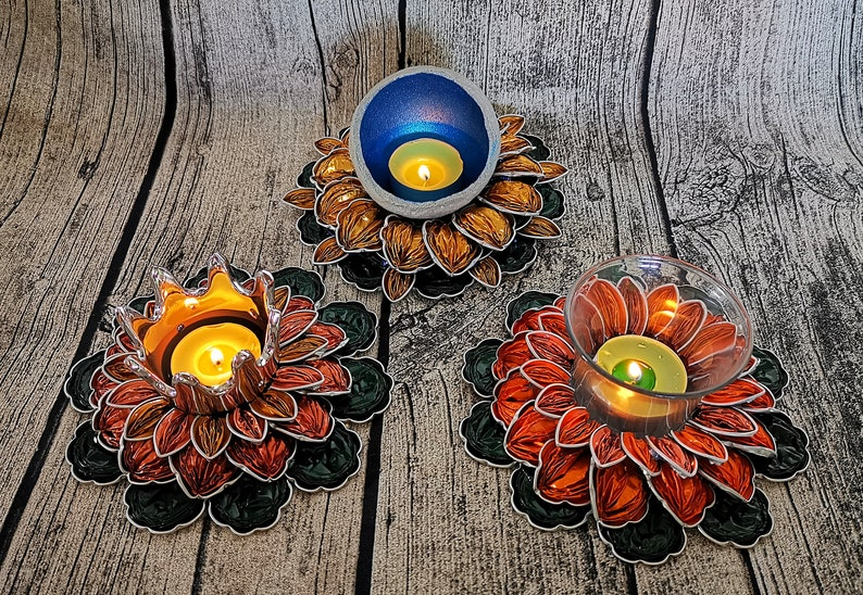 Upcycled Candle Holder Tealight Holder from Nespresso Capsules image 0