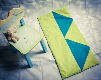 Plaid baby blanket