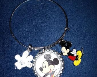 Coco Bottle Cap Bangle Bracelet