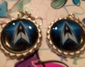 Star Trek Bottle Cap Earrings #4