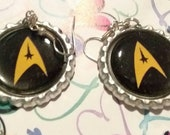 Star Trek Bottle Cap Earrings #3