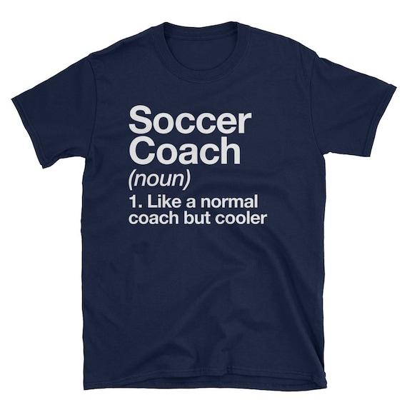 Fussball Trainer Lustige Definition T Shirt Trainer Geschenk Tee
