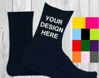 personalized socks, custom socks, wedding favours, fathers day socks, father of the groom, groom socks, stag socks, funny socks, blue socks