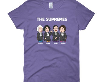 f98d62e5707c notorious rbg t shirt || The Supremes Court T-shirt || Womens Shirt || US  Female Justices || supreme court || political shirt