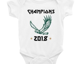 Vintage Champions Eagles Fan 2018 shirt || Philadelphia Eagles || Baby gift|| Baby shower gift || Philly Baby || eagles onesie