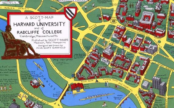 Harvard University Map Naturalrugs Store