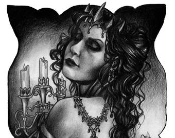 Carmilla - limited art print (signed)