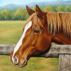 Sorrel quarter horse flaxen mane counted cross stitch pattern digital pdf