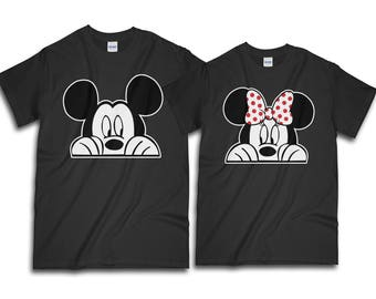 Couple Shirt, Mickey And Minnie Shirt, Disney Couple Shirt, Disney, Couples Shirts, Valentine Shirt, Gift For Her, Gift For Him, Valentine