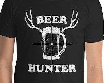 29a6939e52c28 Funny Beer Shirt Funny Beer Gifts Beer Hunter T Shirt Beer Lover Gift For  Him Beer Deer Shirt Mens Drinking Shirt Vintage Deer Antlers Shirt