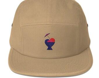 5 Panel Camper Cap Cap Embroidered/Embroidered Ice Cream/Ice Cream