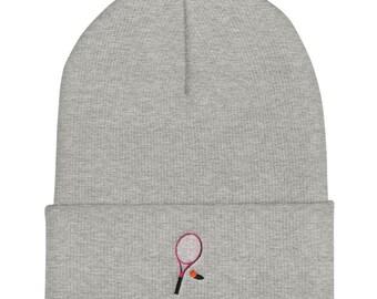 Cuffed Beanie / Wool Hat - Tennis