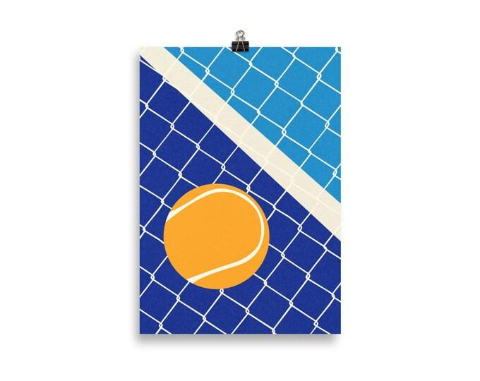 Poster Art Print Illustration – Matchball