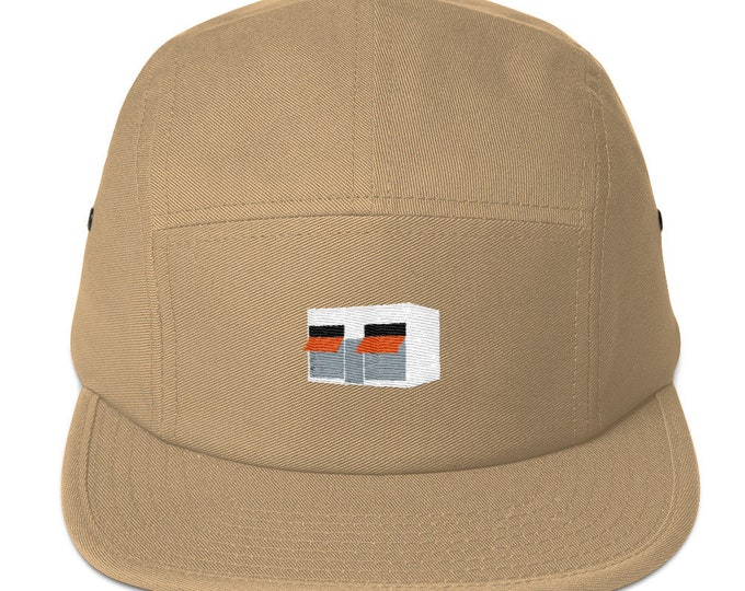 Unisex 5 panel cap / hat with embroidered shop