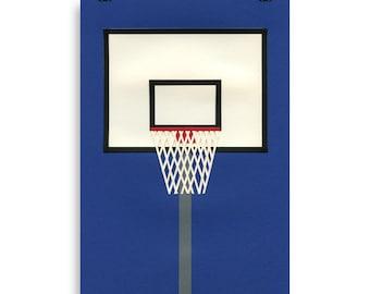 Poster Art Print Illustration – Oakland Basketball Team III Rosi Feist