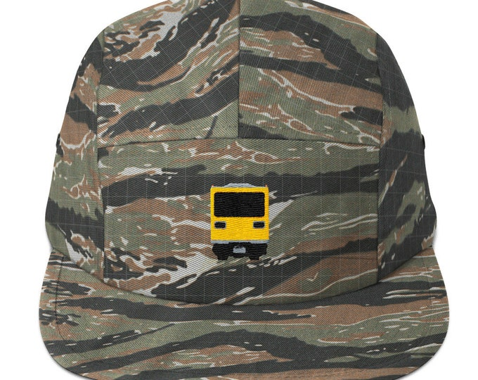 5 Panel Camper Cap Cap Embroidered/Embroidered Subway/Subway