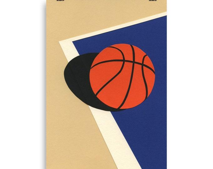 Poster Art Print Illustration – Oakland Basketball Team Rosi Feist