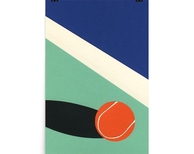 Poster Art Print Illustration – Arizona Tennis Club II Rosi Feist