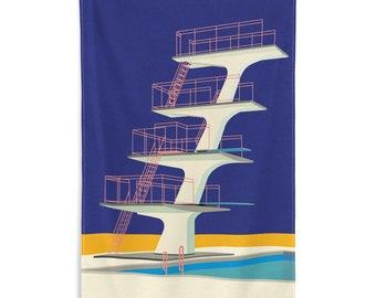 Flag Diving Tower