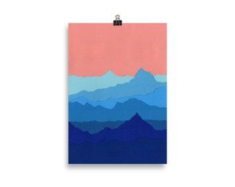 Art Print – Blue Mountains