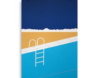 Poster Art Print Illustration - Desert Pool Rosi Feist