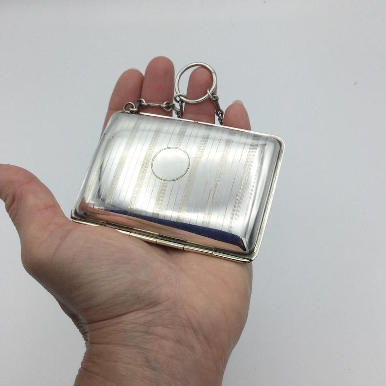 Vintage Silver Plate Purse EPNS Purse Antique Evening Purse Coin Purse