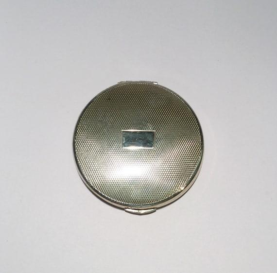 FREEPOST Silver Powder Compact, Sterling Silver, K